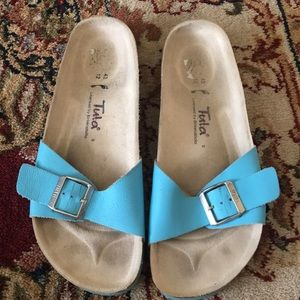 Tula by Birkenstock sandals size 43